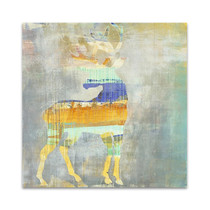 Sunrise Stag Wall Art Print