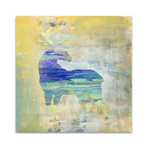 Sunset Stag Wall Art Print