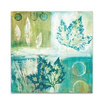 Teal Earth II Wall Art Print