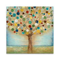 Tree Of Light Wall Art Print
