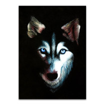 Husky Dog Wall Art Print