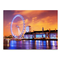 River Thames London Wall Art Print