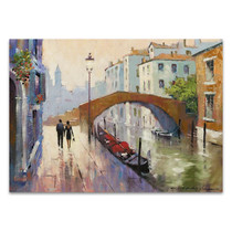 Venice Twilight Wall Art Print