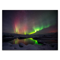 Northern Lights Aurora Borealis Wall Art Print