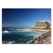 Australia Nobbys Lighthouse Wall Art Print