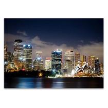 Sydney City Center Wall Art Print