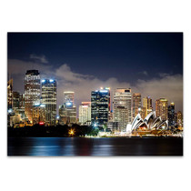 Sydney City Center Wall Art Print