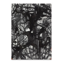 Abstract Calligraphy Ink Wall Art Print