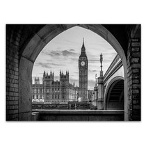 London Big Ben Tower Wall Art Print