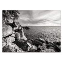 On the Rocks Wall Art Print