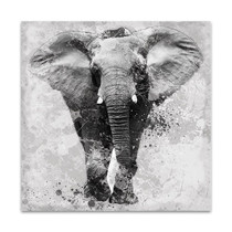 Proud Elephant Wall Art Print