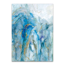 Abstract Lapis Wall Art Print