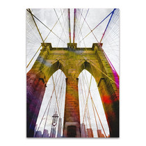 Brooklyn Bridge New York Wall Art Print