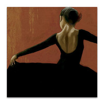 Lady Dancing Samba II Wall Art Print