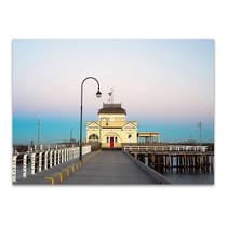 Australia St Kilda Pier Wall Art Print
