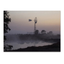 Australian Windmill Wall Art Print