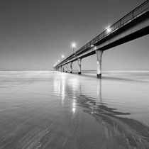 Brighton Beach Bridge Australia Wall Print