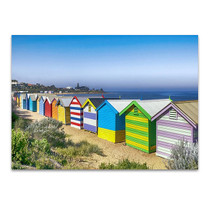 Brighton Beach Wall Art Print