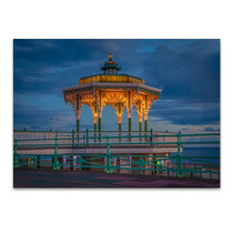 Brighton Blue Sky Wall Art Print