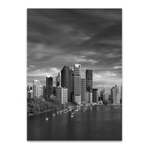 Brisbane City Australia Wall Art Print