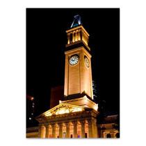 Brisbane City Hall Tower Wall Art Print