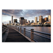 Brisbane City Skyline Wall Art Print