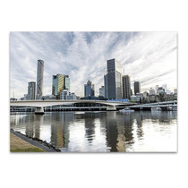 Brisbane River Wall Art Print