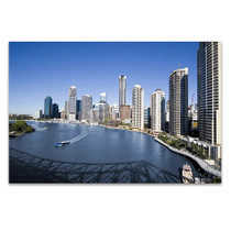 Brisbane Skyline Wall Print