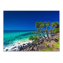 Burleigh Head National Park Wall Print