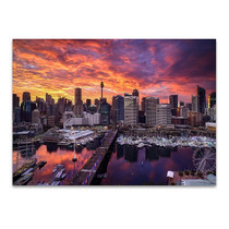 Darling Harbour Sydney Wall Art Print