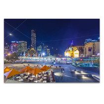 Downtown Melbourne Wall Art Print