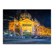 Flinders Station Melbourne Wall Art Print