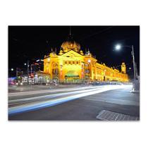 Flinders Street Melbourne Wall Art Print