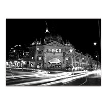 Flinders Street Station Wall Art Print
