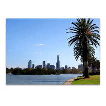 Melbourne Albert Park Lake Wall Print