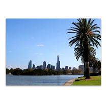 Melbourne Albert Park Lake Wall Print