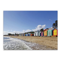 Melbourne Beach Wall Art Print