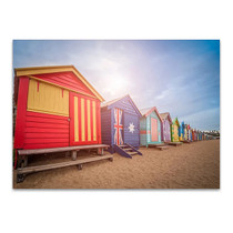 Melbourne Brighton Beach Wall Art Print