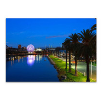 Melbourne City Victoria Wall Art Print