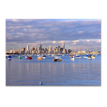 Melbourne Seascape Wall Art Print