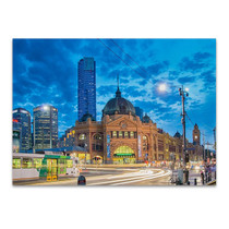 Melbourne Spencer Station Wall Art Print