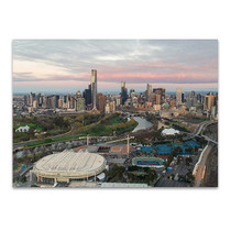 Melbourne Sporting Precinct Wall Art Print