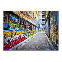 Melbourne Street Wall Art Print