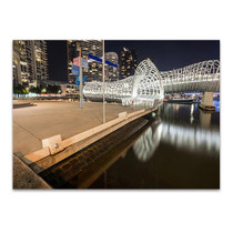 Melbourne Webb Bridge Wall Art Print