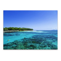 Queensland Great Barrier Reef Wall Print