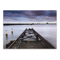 St Kilda Pier Sunset Wall Art Print