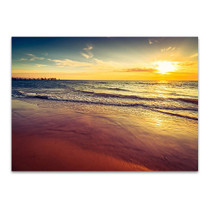 Sunset at Glenelg Beach Wall Art Print