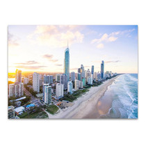 Surfers Paradise Skyline Wall Art Print