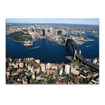 Sydney City Aerial View Wall Print