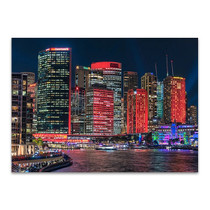Sydney City Skyline Wall Art Print